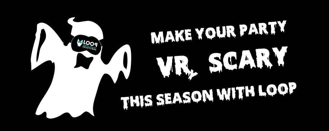 VR scary Halloween