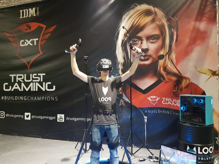Kat Walk Mini - Loop Virtual Reality solutions