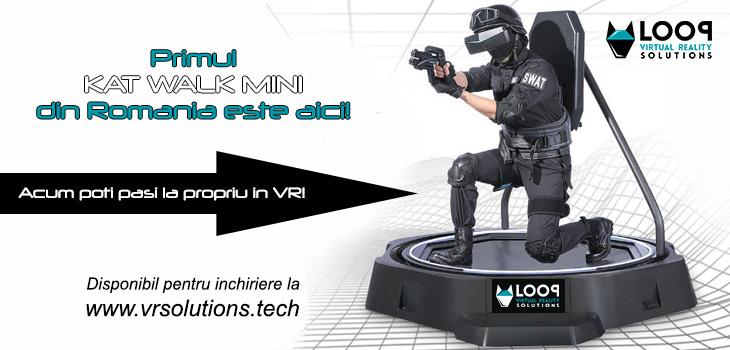Kat Walk Mini dispnibil la Loop Virtual reality Solutions
