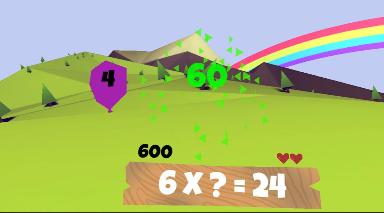 matematica in realitate virtuala