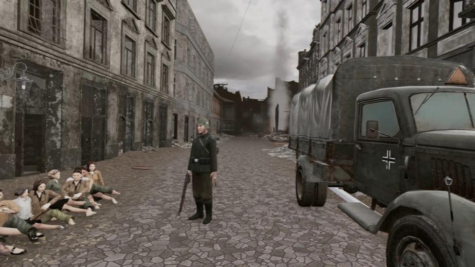 Holocaust realitate virtuală